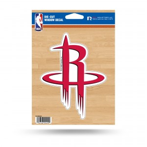 HOUSTON ROCKETS MEDIUM DIE CUT STICKERS