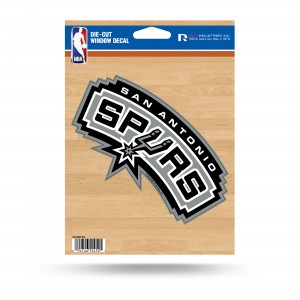 SAN ANTONIO SPURS MEDIUM DIE CUT STICKERS