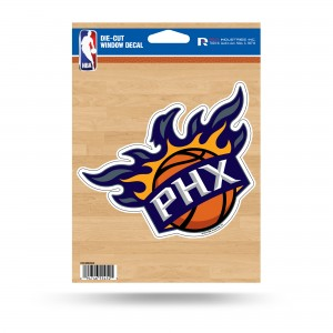 PHOENIX SUNS MEDIUM DIE CUT STICKERS