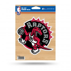 TORONTO RAPTORS MEDIUM DIE CUT STICKERS