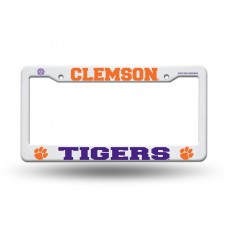 CLEMSON TIGERS PLASTIC LICENSE PLATE FRAME