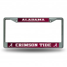 ALABAMA CHROME LICENSE PLATE FRAME