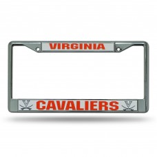 VIRGINIA CROSSED SWORDS CHROME FRAME