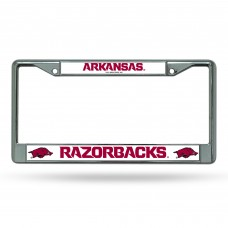 ARKANSAS CHROME LICENSE PLATE FRAME