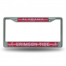 ALABAMA BLING CHROME LICENSE PLATE FRAME