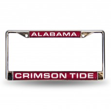 ALABAMA RED LASER CHROME LICENSE PLATE FRAME