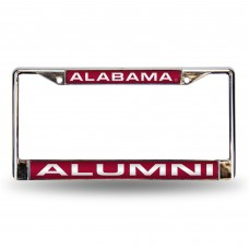 ALABAMA ALUMNI LASER CHROME LICENSE PLATE FRAME