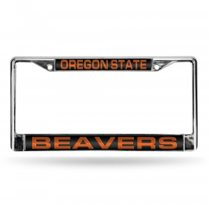 OREGON STATE BLACK LASER CHROME FRAME