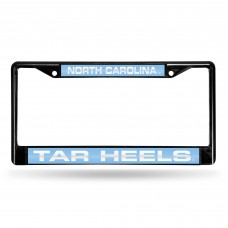 NORTH CAROLINA BLACK LASER CHROME FRAME