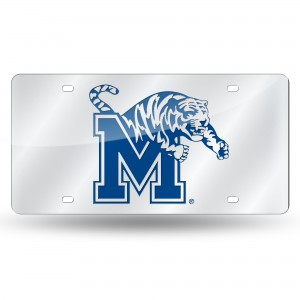 UNIVERSITY OF MEMPHIS LASER TENNESSEE LICENSE PLATES