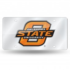 OKLAHOMA ST SILVER LASER TAG