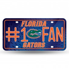 FLORIDA #1 FAN METAL LICENSE PLATE