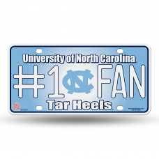 NORTH CAROLINA #1 FAN METAL TAG