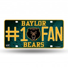 BAYLOR #1 FAN METAL TAG