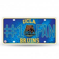 UCLA #1 FAN METAL TAG