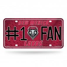 UNIVERSITY/NEW MEXICO #1 FAN TAG