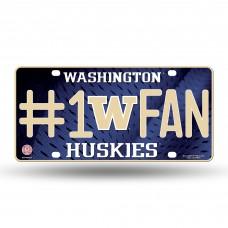 WASHINGTON #1 FAN METAL TAG