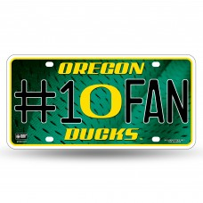 OREGON 'O' #1 FAN METAL TAG