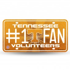 TENNESSEE BLING # 1 FAN METAL TAG