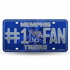 MEMPHIS BLING # 1 FAN METAL TAG