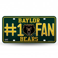 BAYLOR BLING # 1 FAN METAL TAG