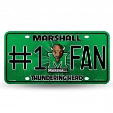 MARSHALL BLING # 1 FAN METAL TAG