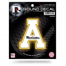 APPALACHIAN STATE ROUND DECAL