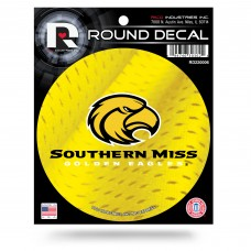 SOUTHERN MISS ROUND DECAL