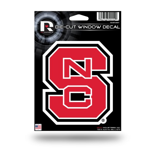 N CAROLINA STATE MEDIUM DIE CUT DECAL