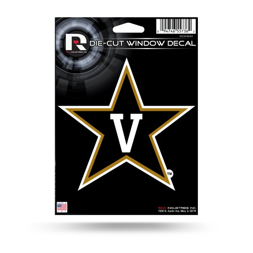 VANDERBILT MEDIUM DIE CUT DECAL