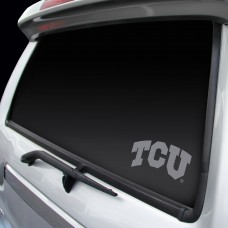TEXAS CHRISTIAN WINDOW GRAPHIC