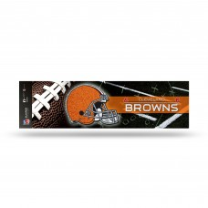 BROWNS BLING BUMPER STICKER