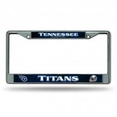 TITANS BLUE BG CHROME FRAME Tennessee Titans Logo Products