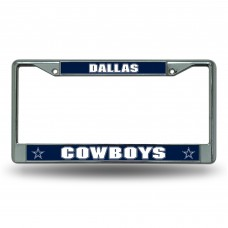 COWBOYS DARK BLUE CHROME FRAME Dallas Cowboys Logo Products
