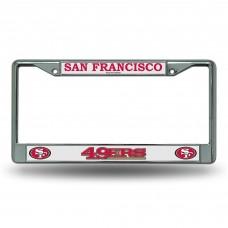 SAN FRANCISCO 49'ERS CHROME FRAME