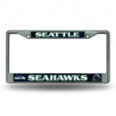 SEATTLE SEAHAWKS BLUE BG CHROME FRAME