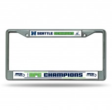 SEAHAWKS NFC CHAMP CHROME FRAME