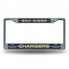 CHARGERS BLING CHROME FRAME