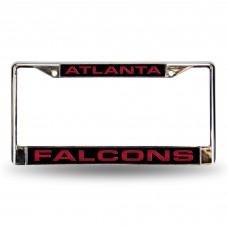 ATLANTA FALCONS LASER CHROME FRAME Atlanta Falcons Logo Products