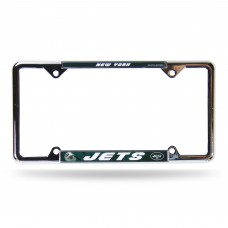 NEW YORK JETS GREEN BG EZ VIEW CHROME FRAME New York Jets Logo Products