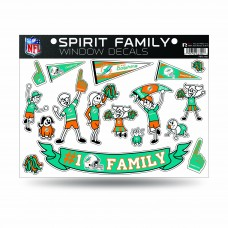 DOLPHINS FAMILY STICKER SHEET LARGE