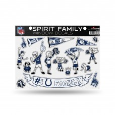COLTS FAMILY STICKER SHEET LARGE