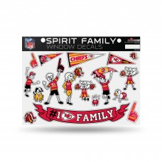 CHIEFS FAMILY STICKER SHEET LARGE