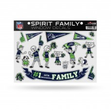 SEAHAWKS FAMILY STICKER SHEET LARGE
