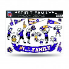 VIKINGS FAMILY STICKER SHEET LARGE