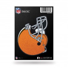 CLEVELAND BROWNS BLING MEDIUM DIE CUT DECAL