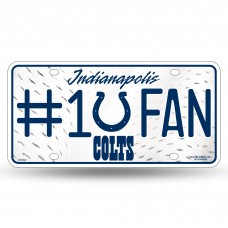 INDIANAPOLIS COLTS #1 FAN METAL TAG