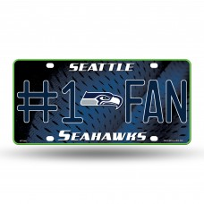 SEAHAWKS #1 FAN PRIMARY LOGO METAL TAG