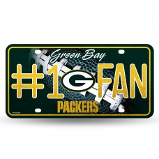 PACKERS BLING # 1 FAN METAL TAG