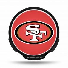 SAN FRANCISCO 49ERS POWER DECAL